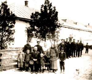 Buskas  Johan Pettersson med fam