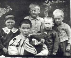 231 Hansa Berta med barn