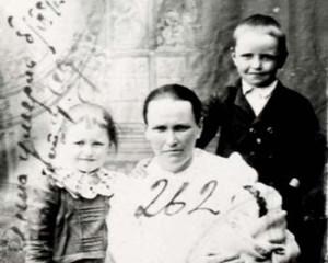 262 Kotz Matilda med barn