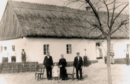 Herman Gustav med fam