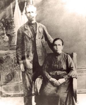 Herman Johan med hustru