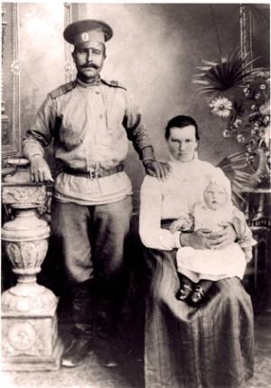 Herman Kristian med fam
