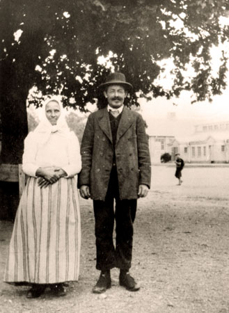 Knutas Mathias med hustru
