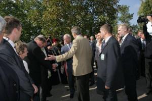 Staffan Beijer bugar djupt för Kungen