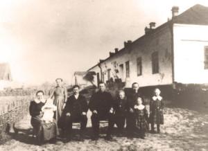 Norberg Julius o Johannes med fam