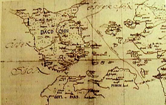 Dagokarta 1721 när Dagö blev ryskt