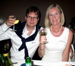 Henrik Uthas och Elisabeth Dewar