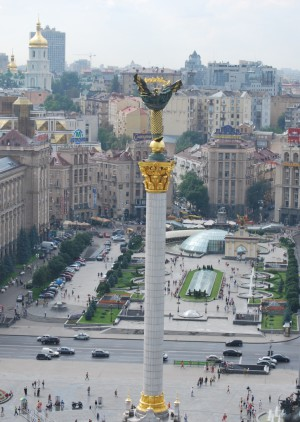 Majdan - Independence square i Kiev
