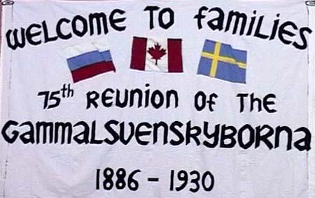 75 års jubileum för kanadasvenskarna  i Wetaskawin juni 2005