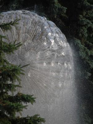 Kiev - vattenfontän