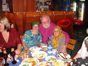 Biskopen och tanterna