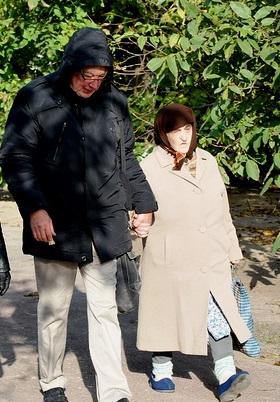 Lydia och KE_Tysk_promenad i byn
